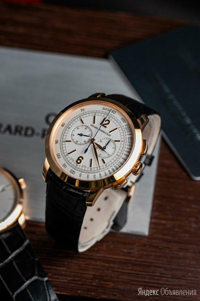 Girard-Perregaux 1966 Chronograph полный комплект по цене 1100000₽ - Наручные часы, фото 0