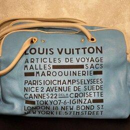 Дорожные и спортивные сумки - Сумка кожаная Louis Vuitton оригинал, 0