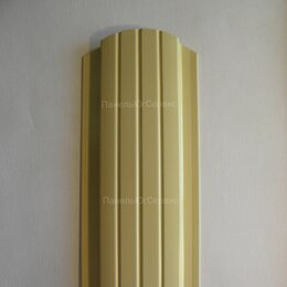 Заборы, ворота и элементы - Металлический штакетник Слоновая кость, 0