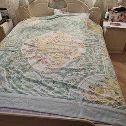 Кровати - Кровать и две тумбочки,матрас, наматрасник,доп.основание.  , 0