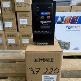 Преобразователи частоты - НОВАЯ модель от innovert серии ISD mini  PLUS 3,7кВт 220В, 0