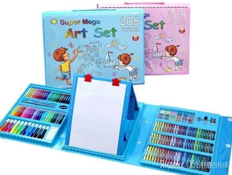 Набор для рисования с мольбертом 208 предметов по цене 1100₽ - Рисование, фото 0