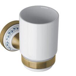 Мыльницы, стаканы и дозаторы - Bemeta Держатель зубных щеток, керамика Bemeta KERA, 0