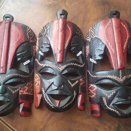 Интерьер - Африканская маска из черного дерева, 0