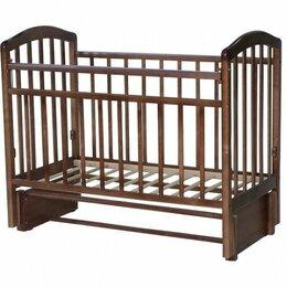 Кроватки - Кроватка антел алита-5 (классическая), продольный маятник, 0