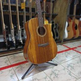 Акустические и классические гитары -  Акустическая гитара Flight Teat D155, 0