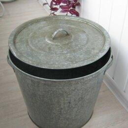 Бочки, кадки, жбаны - Бак оцинкованный с крышкой и вкладками на дно. 30 литров, 0