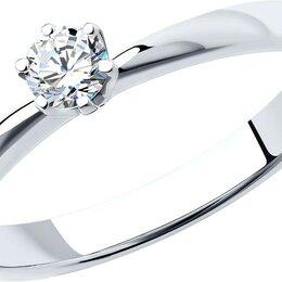 Кольца и перстни - Помолвочное кольцо SOKOLOV 1012128-3_s_16, 0