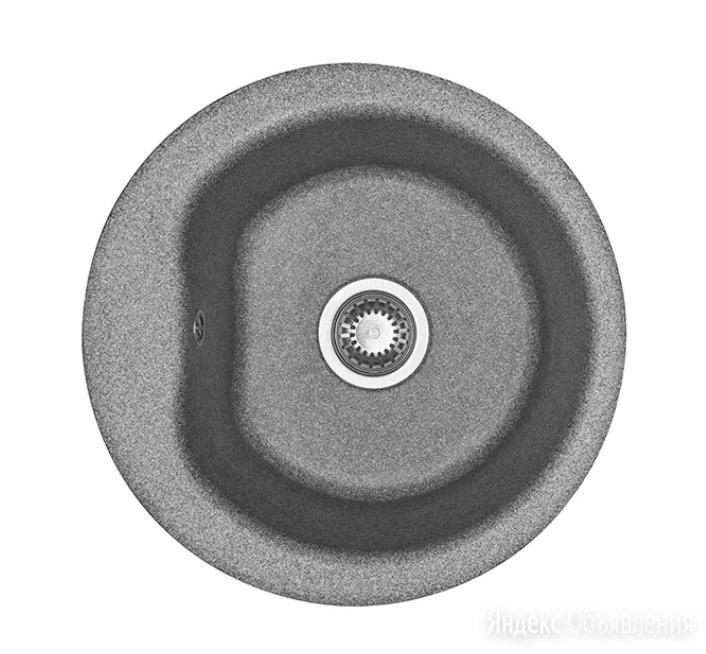 Кухонная мойка Акватон Мида 51 1A712732MD230 серый по цене 4761₽ - Кухонные мойки, фото 0