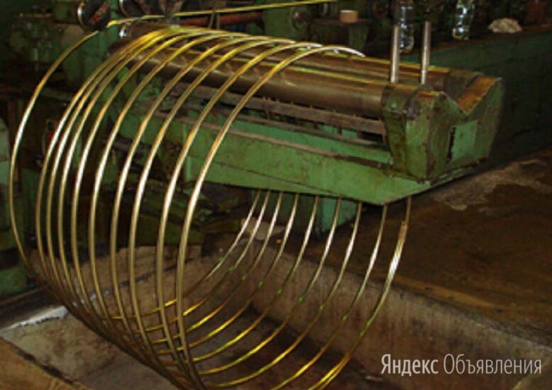 Труба латунная 10х2 мм Л63 по цене 295₽ - Металлопрокат, фото 0