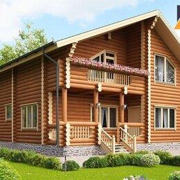 Готовые строения - Дом из оцилиндрованного бревна об-130 156 м², 0