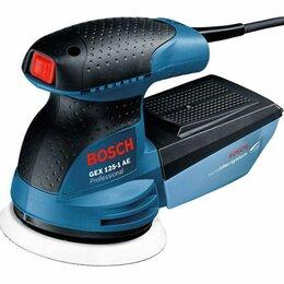 Шлифовальные машины - Эксцентриковая шлифмашина Bosch GEX 125-1AE, 0