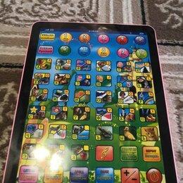 Развивающие игрушки - Обучающий детский планшет английский язык, 0