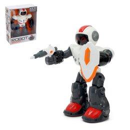 Роботы и трансформеры - Робот интерактивный «Воин», световые и звуковые эффекты, работает от батареек..., 0