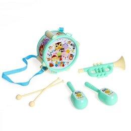 Детские наборы инструментов - Набор музыкальных инструментов «Мультибэнд», 6 предметов, МИКС, 0