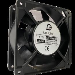 Вентиляторы - Вентилятор промышленного назначения YJF 120х120х38мм 220В/50Гц 20W подшипник, 0