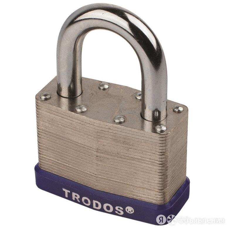 Наборный навесной замок Trodos ВС-SL10-50 по цене 433₽ - Защелки и завертки, фото 0