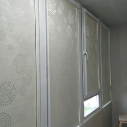 Жалюзи - Рулонные шторы -ткань блэкаут   , 0