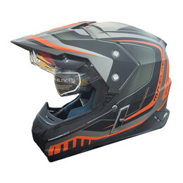 Спортивная защита - Шлем MT SYNCHRONY DUO SPORT TOURER matt platinum black orange, 0