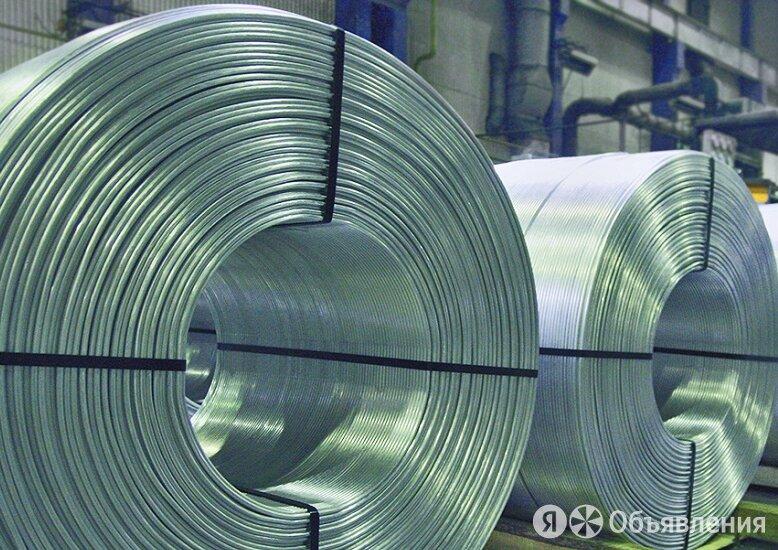 Алюминиевая катанка 9 мм мм АКЛП-ПТ-5Е по цене 124582₽ - Металлопрокат, фото 0