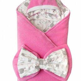 Конверты и спальные мешки - Комплект зимний на выписку «BABY RABBIT» розовый, 0