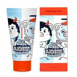 Маски - Маска кислородная для очищения пор Hell-Pore Bubble blackboom pore pack, 150..., 0