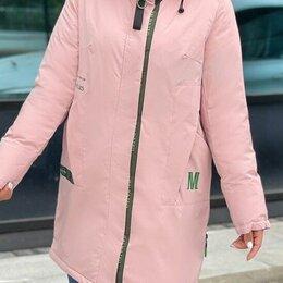 Куртки - Женская удлинённая куртка евро-зима р-ры 46-60, 0