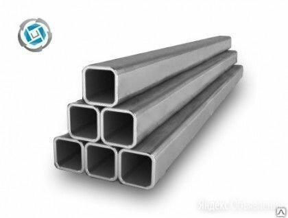 Труба профильная квадратная 120х120х7 мм, сталь 3сп5, ГОСТ 30245-03 по цене 43600₽ - Металлопрокат, фото 0