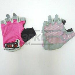 Аксессуары - Перчатки для фитнеса Velo ткань розово-сер (х3), 0