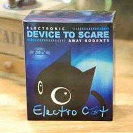 Отпугиватели и ловушки для птиц и грызунов - Электронный отпугиватель крыс и мышей Электрокот Классик для дома, 0
