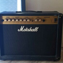 Гитарное усиление - Гитарный Комбоусилитель Marshall G215R CD 30 ватт. Доставка, 0