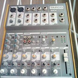Микшерные пульты - 10-ти канальный Микшерный Пульт Tapco Mix 100. Доставка, 0