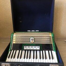 Аккордеоны, баяны, гармони - Музыкальный инструмент аккордеон немецкий WELTMEISTER STELLA , 0
