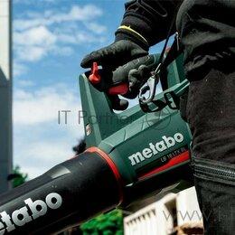 Воздуходувки и садовые пылесосы - Воздуходувка Metabo Lb 18 Ltx Bl пит.:от аккум. черный/зеленый, 0