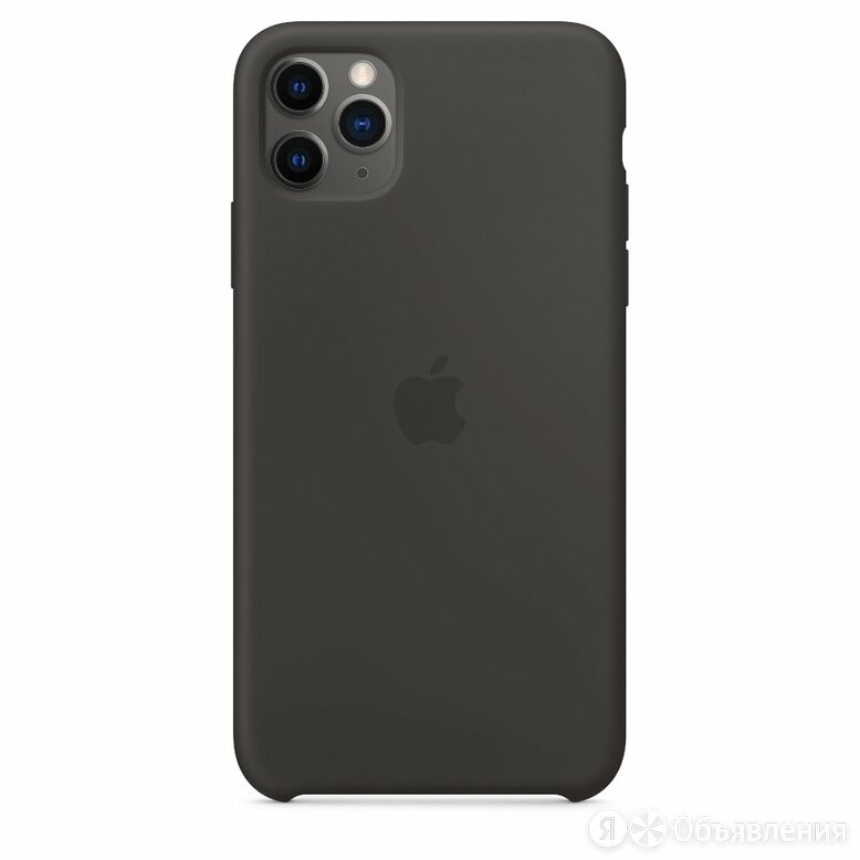 Чехол Silicone Case iPhone 11 Pro Max (чёрный) 5354 по цене 590₽ - Чехлы, фото 0