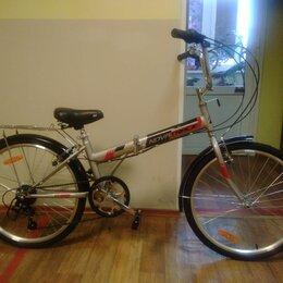 """Велосипеды - Велосипед складной TG 6 скоростей 24"""", 0"""
