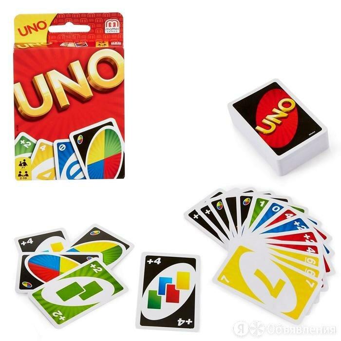 Настольная игра 'Уно' по цене 608₽ - Настольные игры, фото 0