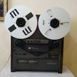 Музыкальные центры,  магнитофоны, магнитолы - Катушечный магнитофон akai gx-747 , 0