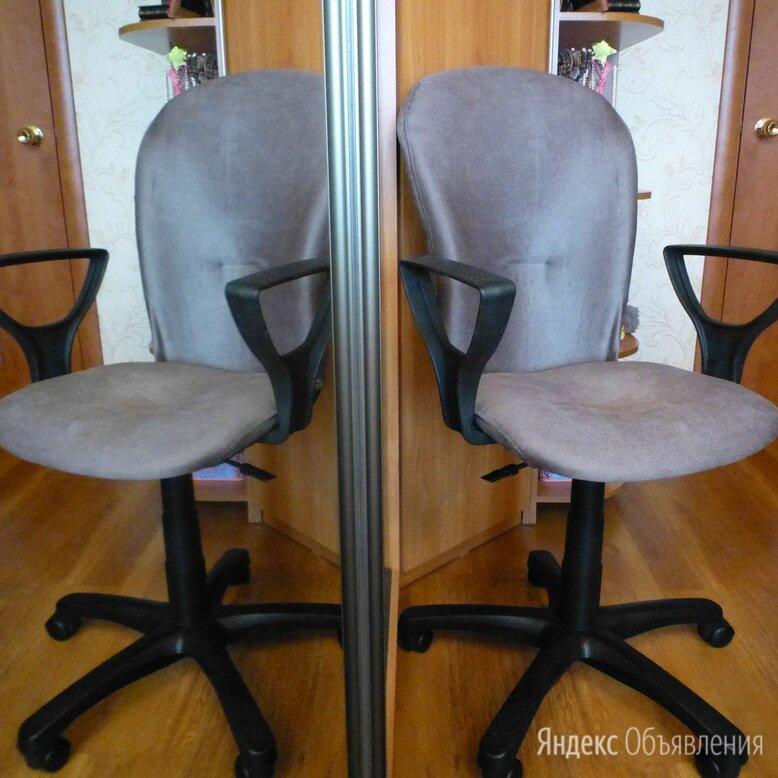 Кресло офисное Варна новый велюр Плутон 10. серое. по цене 1700₽ - Компьютерные кресла, фото 0