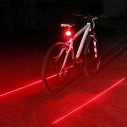 Фонари - Лазерный фонарь для велосипеда задний , 0
