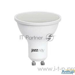 Лампочки - Лампа светодиодная Pled-sp 9Вт 5000К холод. бел. Gu10 720лм 230В Jazzway 2859..., 0