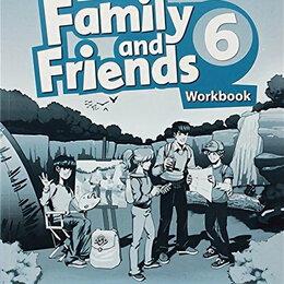 Обучающие плакаты - Family and Friends Second Edition 6 Workbook, 0