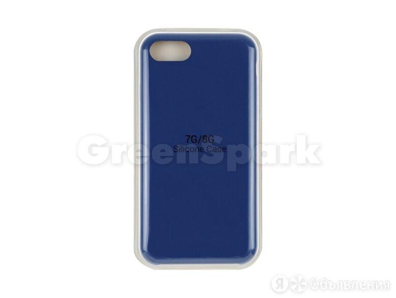 Накладка Vixion для iPhone 7/8 (синий) по цене 300₽ - Чехлы, фото 0