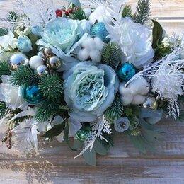 Цветы, букеты, композиции - Интерьерная композиция (зима) , 0
