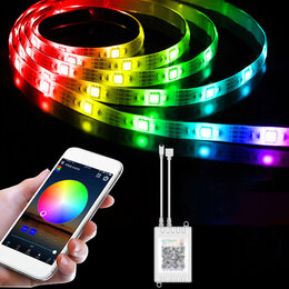Светодиодные ленты - Светодиодная LED лента с управлением через смартфон, 0
