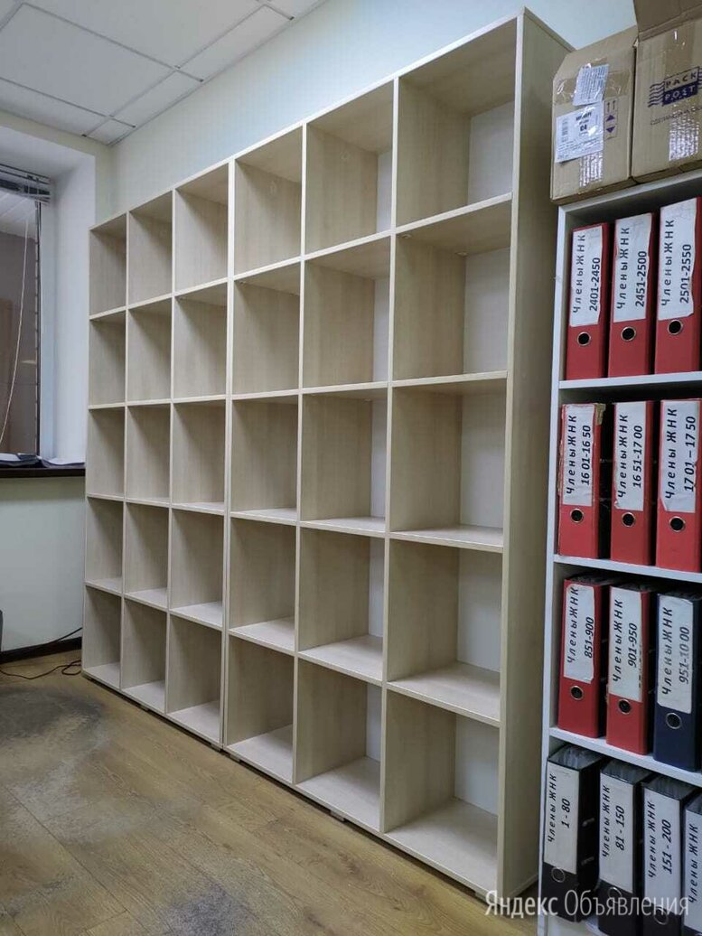 Стеллажи ячейки для документов шкаф бухгалтерский Производство по цене 7950₽ - Шкафы для документов, фото 0