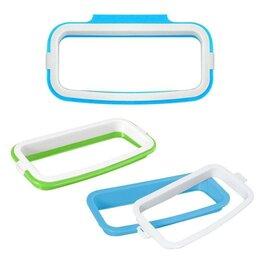Упаковочные материалы - Навесной держатель для пакетов-маек с мусором, 18,5х18,5х4,5 см, цвет микс, 0