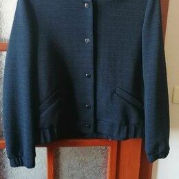 Куртки - Бомбер размер 48 темно синий M&S, 0