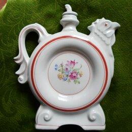 Посуда - Штоф фарфоровый с чарками, 0