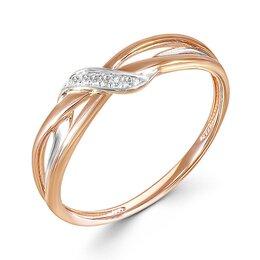 Кольца и перстни - Кольцо с 6 бриллиантами из красного золота, 0